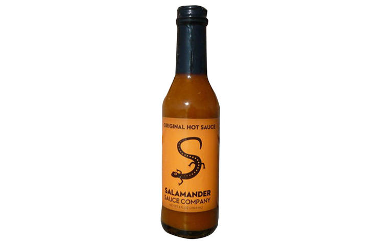 """""""This sauce is HOT but it isn't out to prove a point. The sauce is amazingly fresh and pops in a way that puts other sauces to shame."""""""