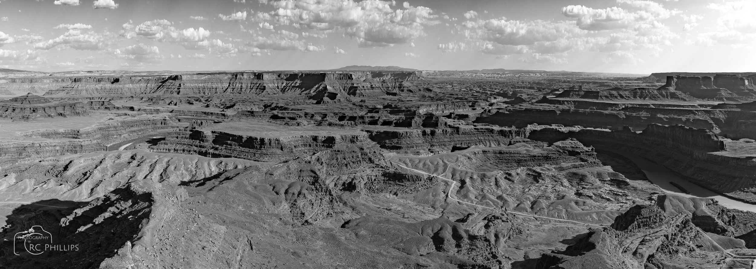 Daytime at Dead Horse Point State Park, Utah.