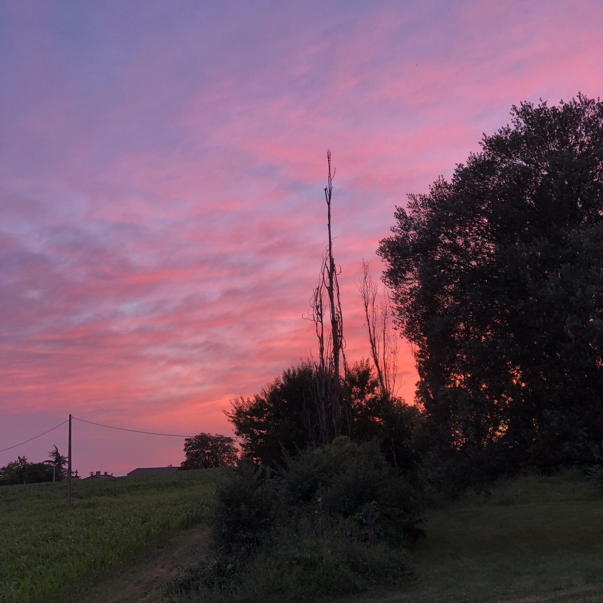 solhenge sunset