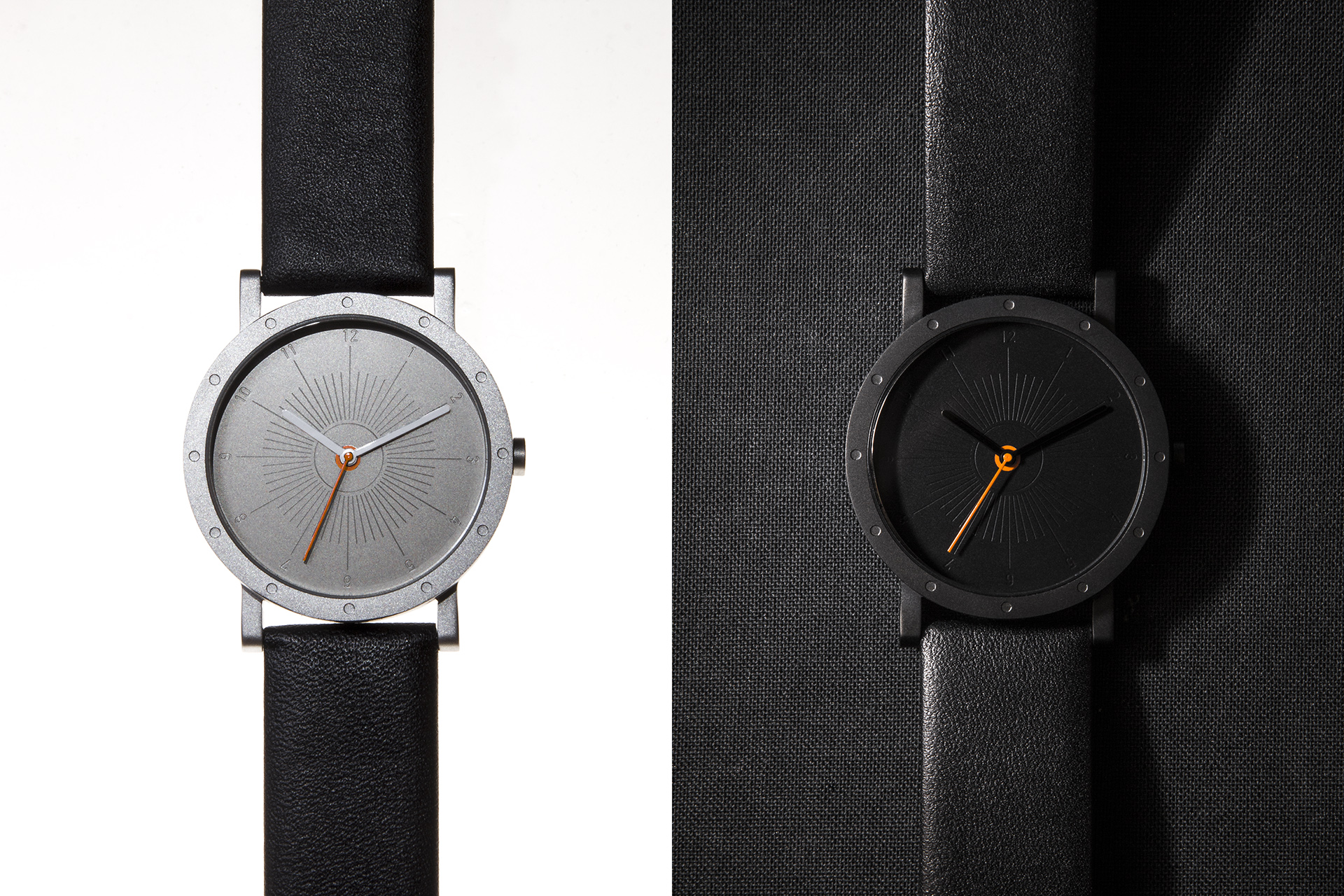 Sundia Watch Steel & Black