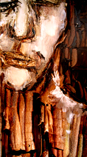 Sarah Pierroz_Painting_Women and Pain Thesis Series_Discomfort.jpg