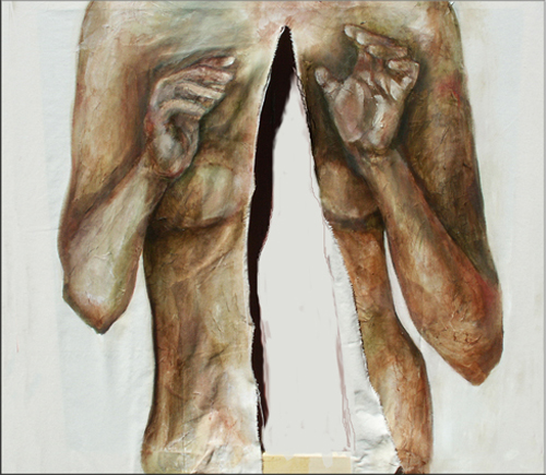 Sarah Pierroz_Painting_Women and Pain Thesis Series_Invasion.jpg