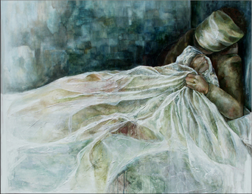 Sarah Pierroz_Painting_Women and Pain Thesis Series_Tension.jpg