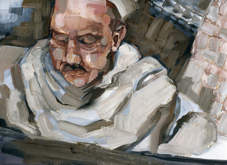 Sarah Pierroz_Painting_Portrait_Cairo_Man at the Khan.jpg
