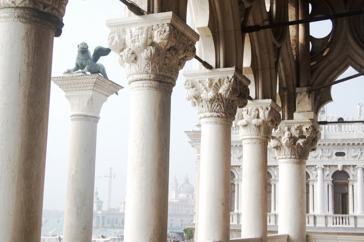 View from the Doge's Palace, Venice. © Sarah Pierroz, 2014
