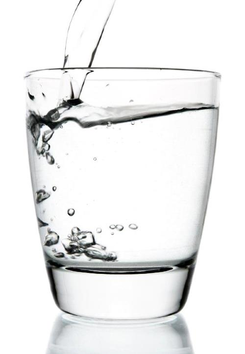 First things first: water