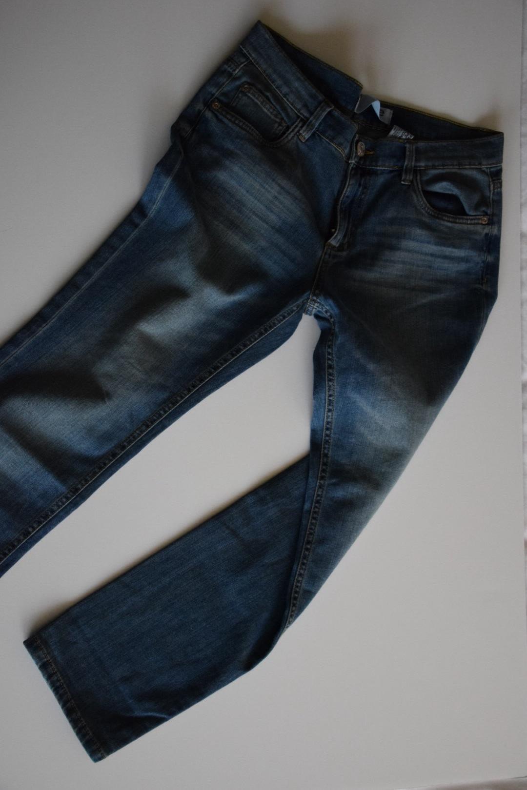 Boyfriend cut jeans