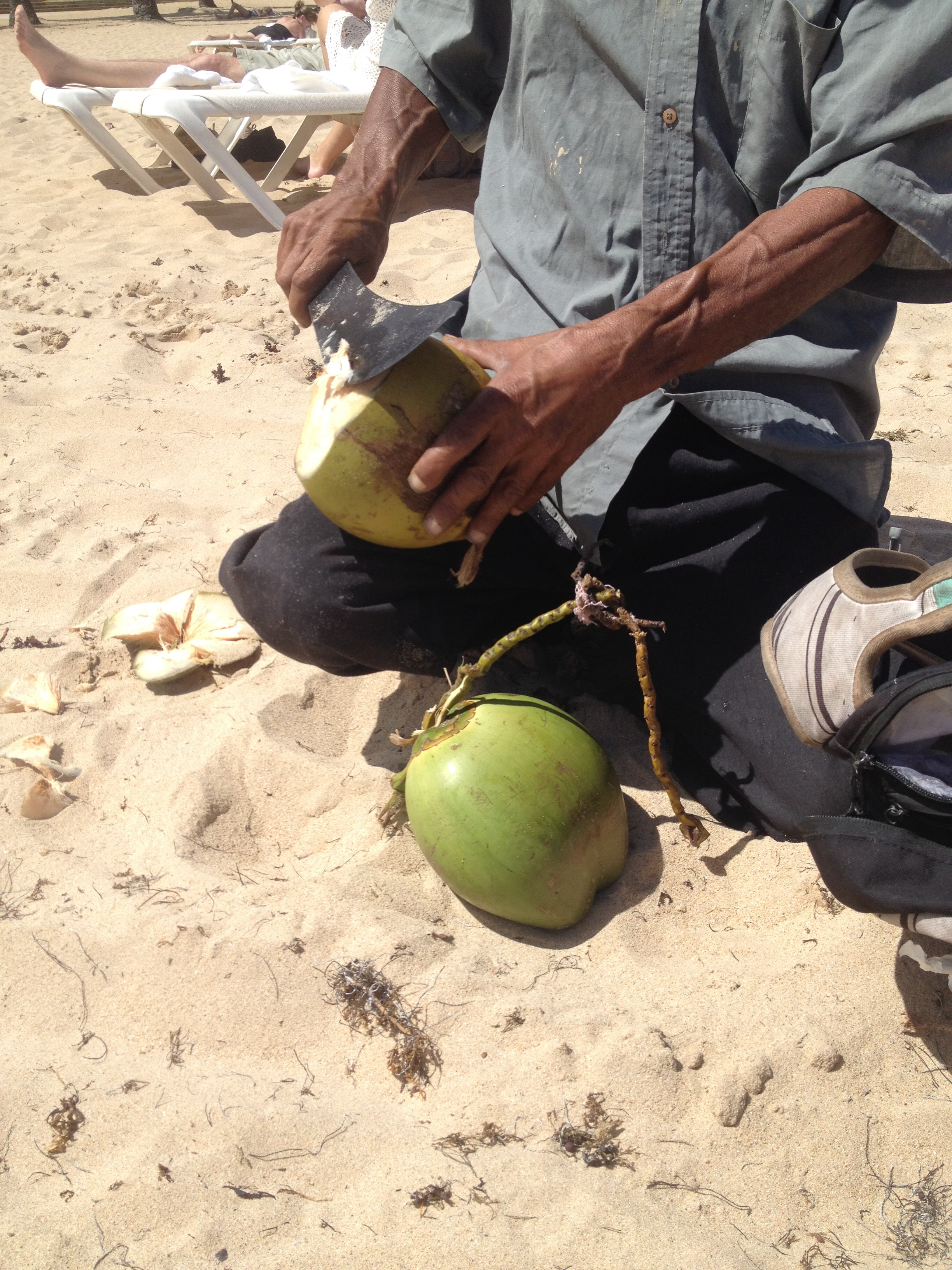 Coconut water from the source