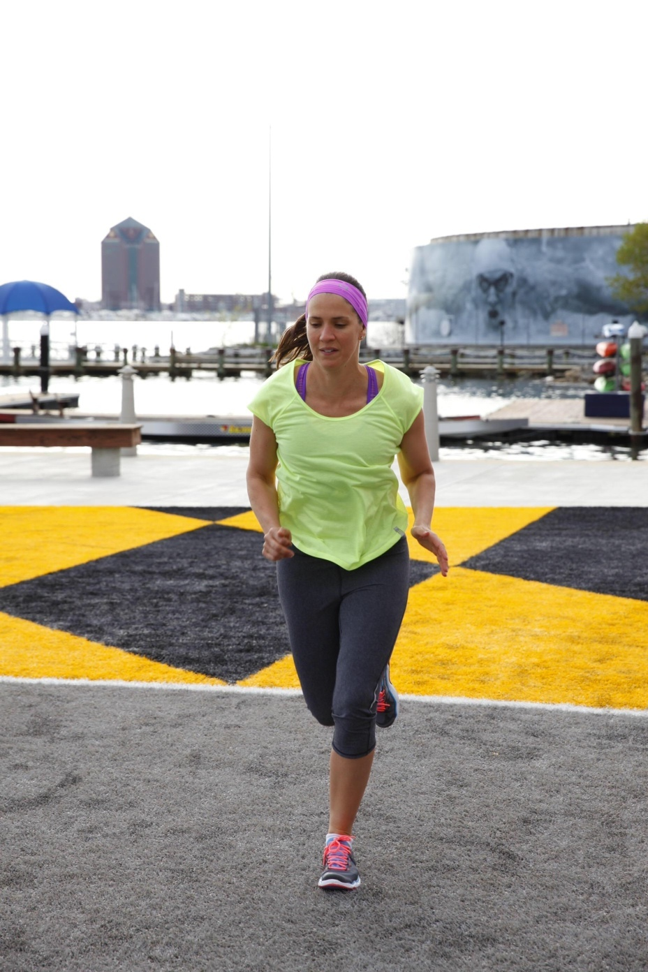 Fitness First: My workout at the Under Armour facility