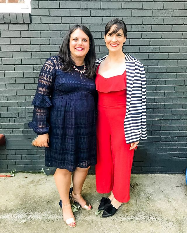 "A fun weekend celebrating my ""sister from another mister"" and her upcoming nuptials! Congratulations to Noel & Kathy—we're so happy for you! — #engagementparty #bestie #bestfriendswedding #clt #charlottenc"
