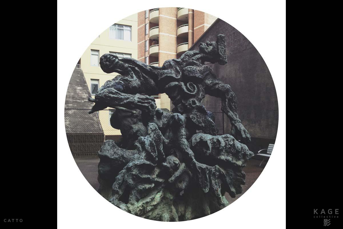 Arthur Sherman's 'Naissance Bronze' in Darlinghurst, Australia with Rando for iPhone 5S.