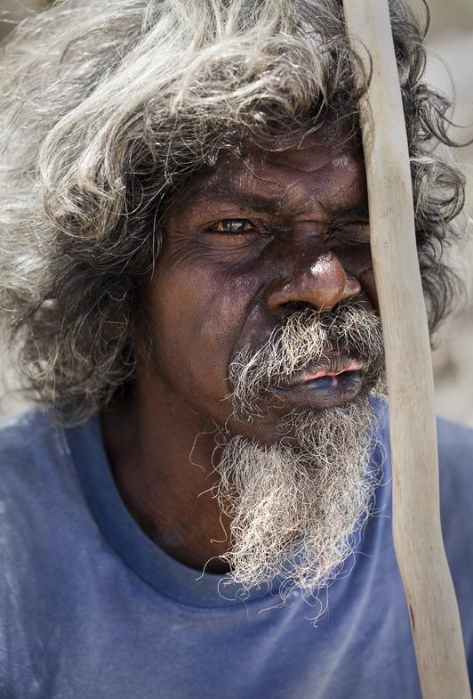 An Aboriginal elder – Djarlie. Photo: Lynn Gail