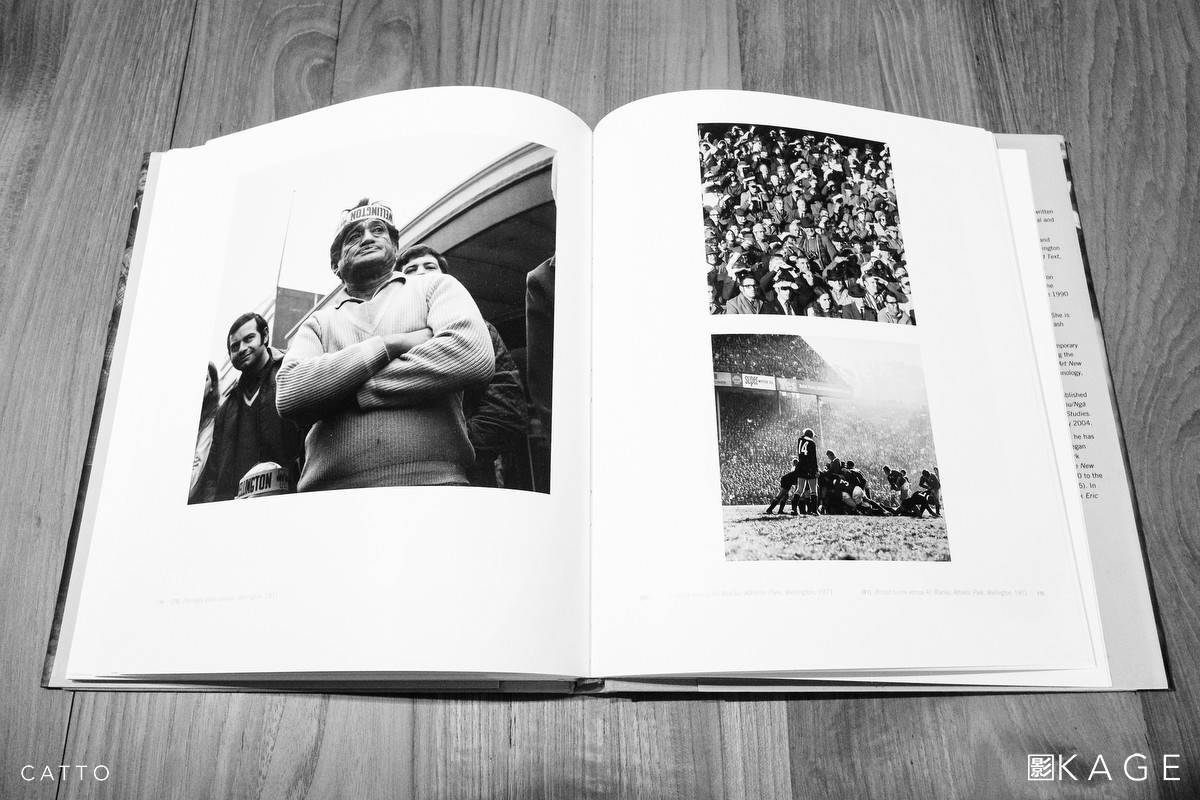 (L) Pre-rugby game parade, Wellington, 1971 | (R) British Lions vs. All Blacks, Athletic Park, Wellington 1971