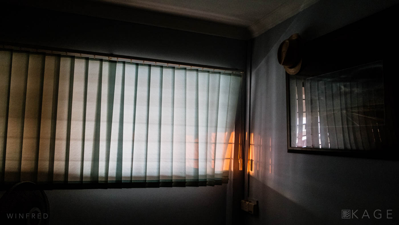 My old bedroom in Singapore