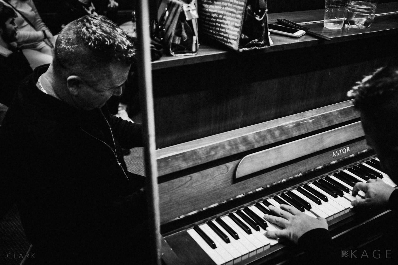 Dressing Room Piano  Derek Clark | X100F - 23mm - ISO2000 - f/2 - 1/125 sec