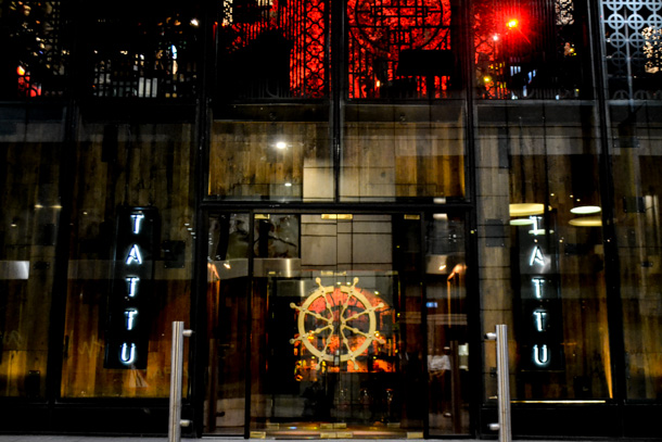 Tattu -  Main Entrance