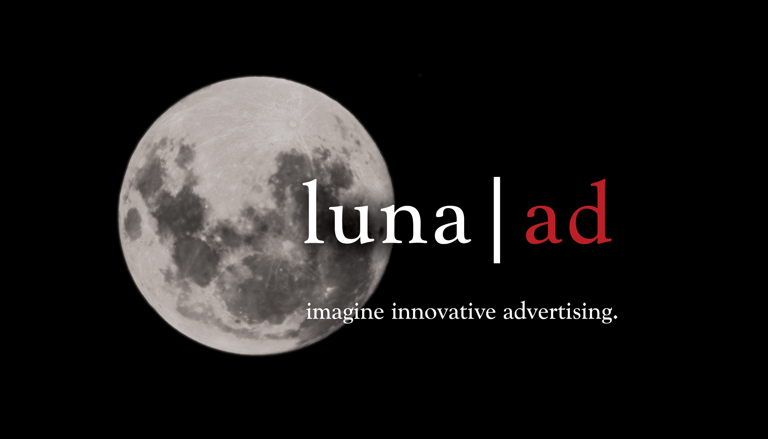 Luna Ad. An advertising agency located in downtown Wilmington, NC.