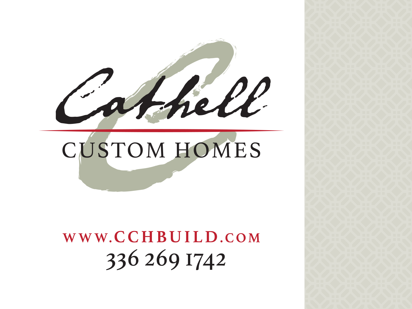 Cathell Homes Banner