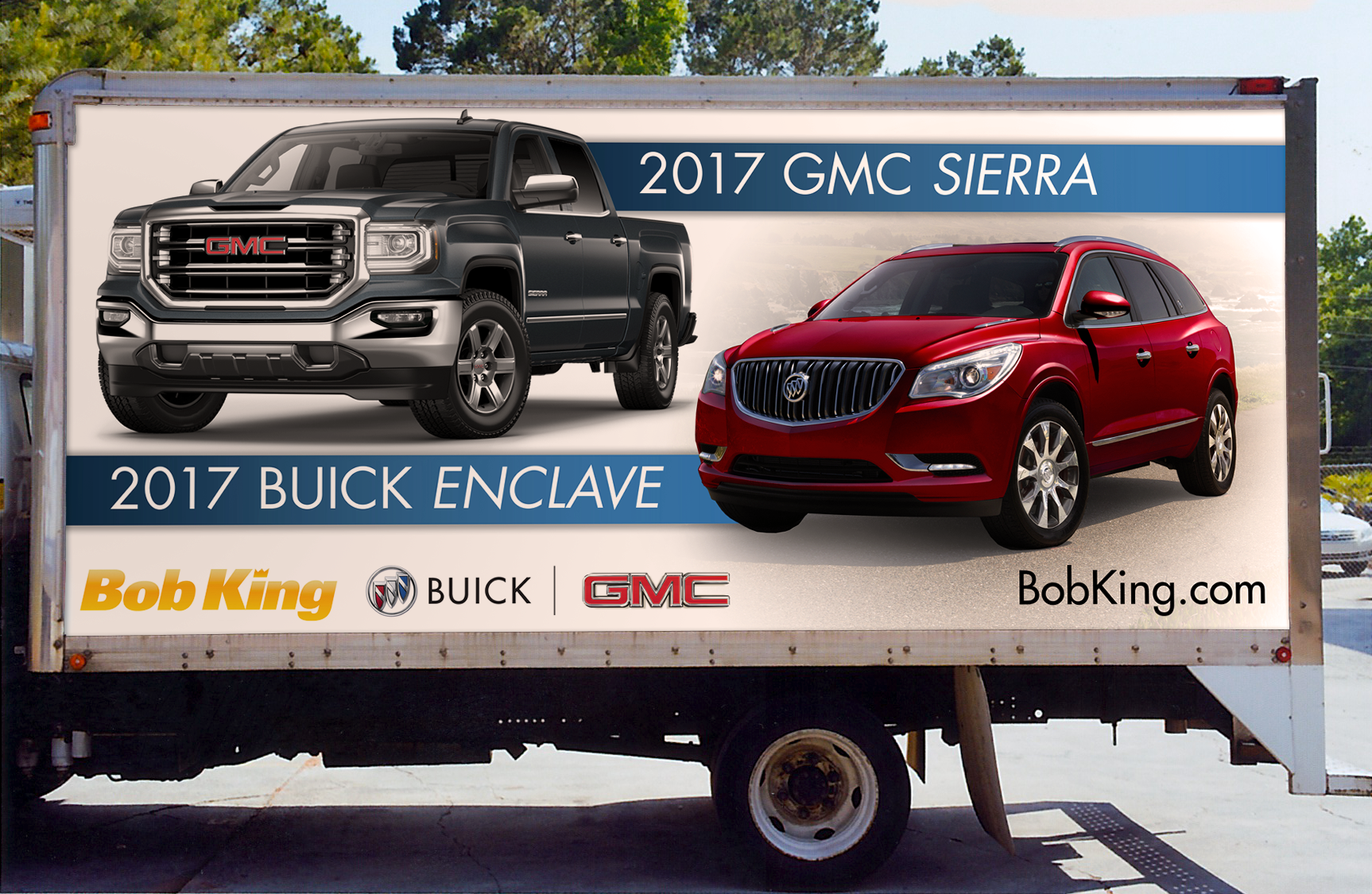 Bob King GMC-Buick Mobile Billboard