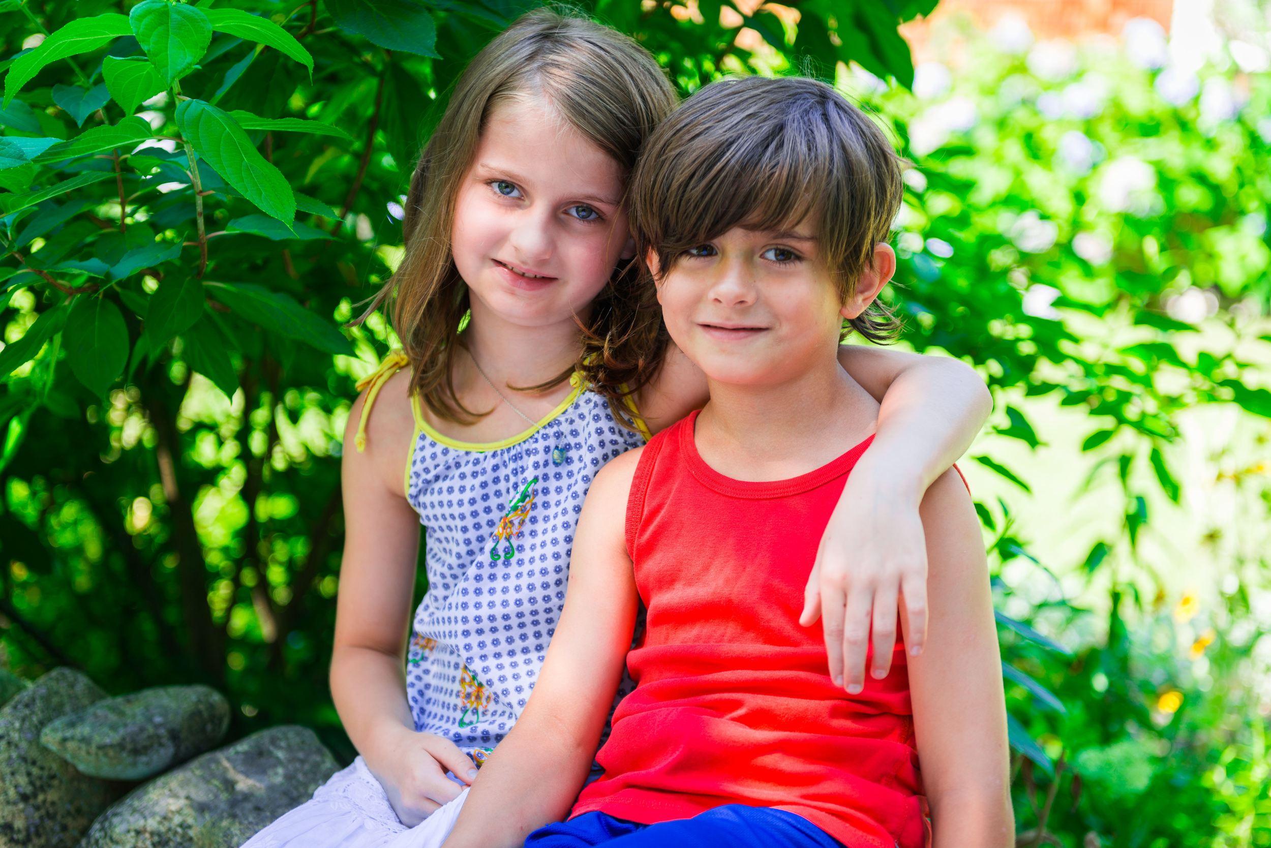 Clarissa and Luca Rachmiel