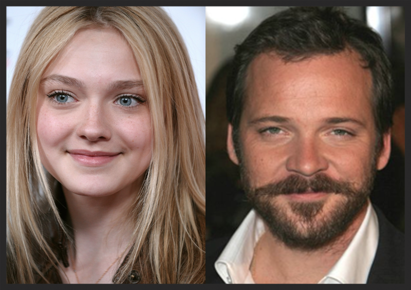 Actors Dakota Fanning & Peter Sarsgaard