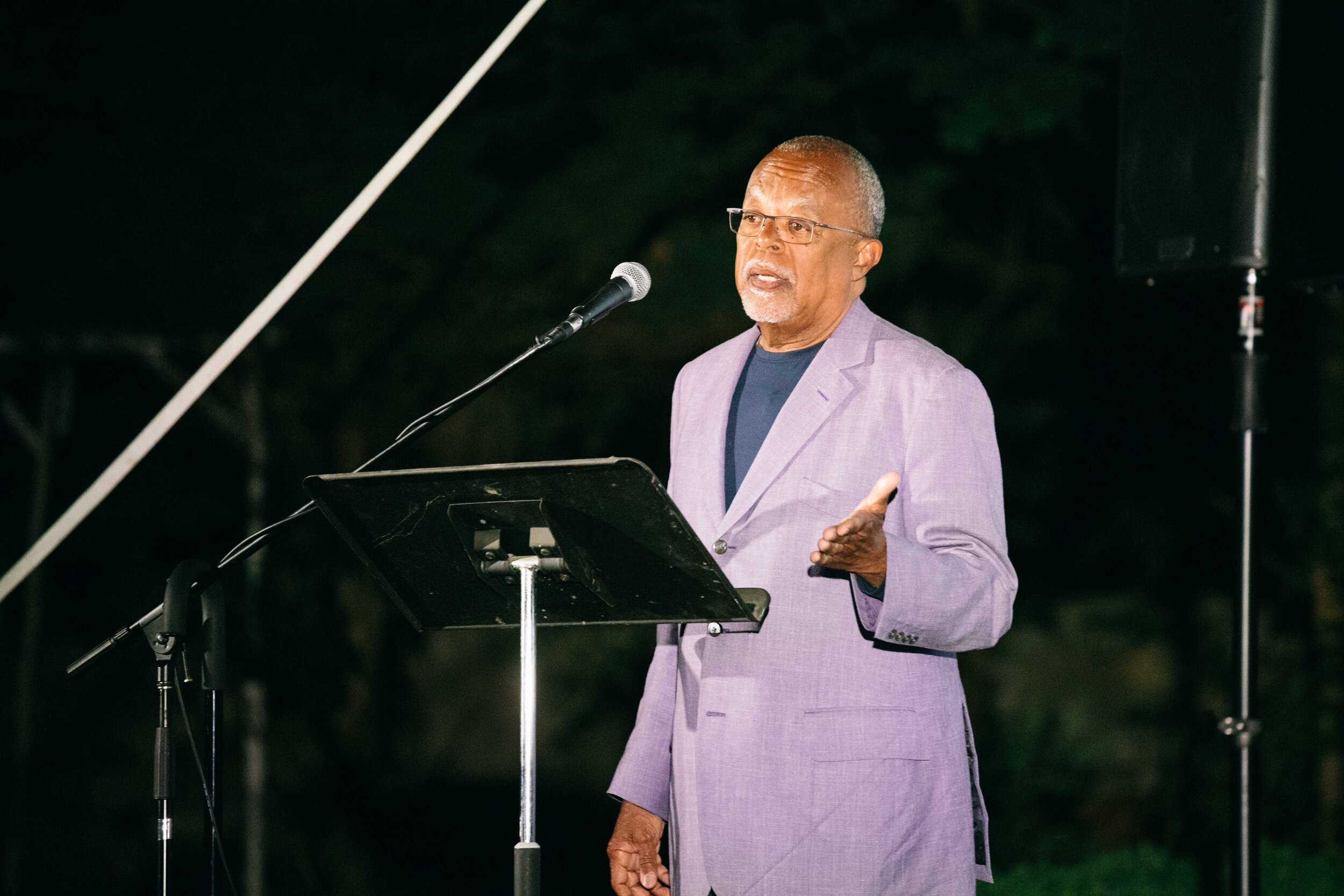 Henry Louis Gates, Jr., presents RECONSTRUCTION: AMERICA AFTER THE CIVIL WAR. Photo by Reece Robinson.