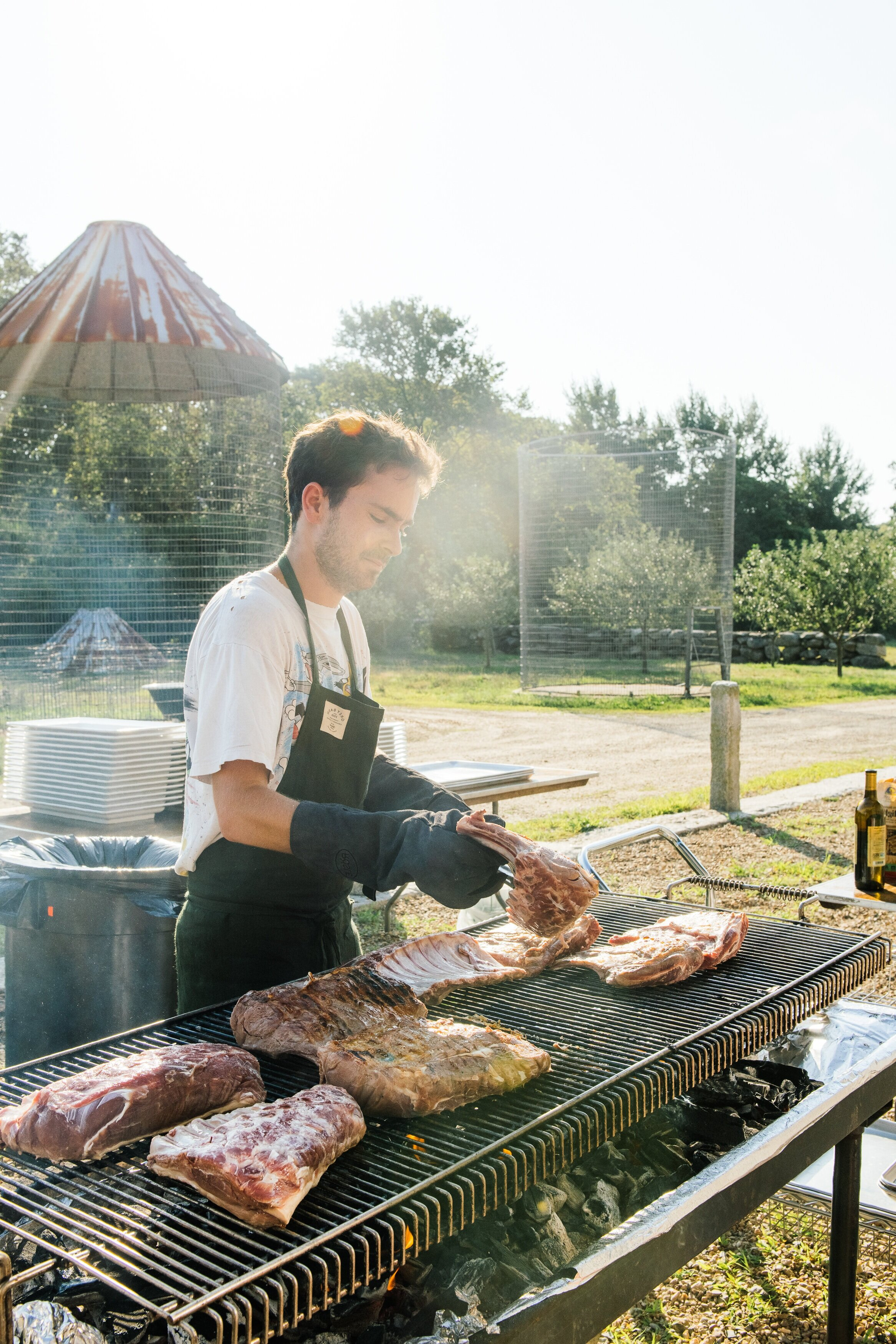 Special Event: Dinner by Chef Flynn McGarry at the Grey Barn and Farm before a screening of CHEF FLYNN. Photo by Gabriela Herman.