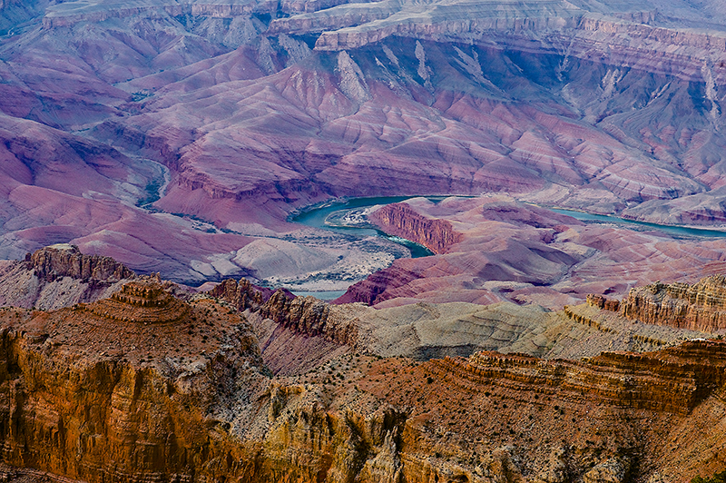 The Grand Canyon. Taken while on tour with Frank Turner and The Sleeping Souls. 30.01.12