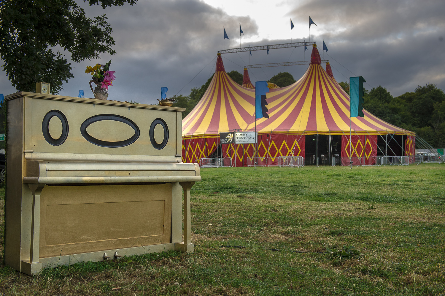The Electric Picnic piano 2013.