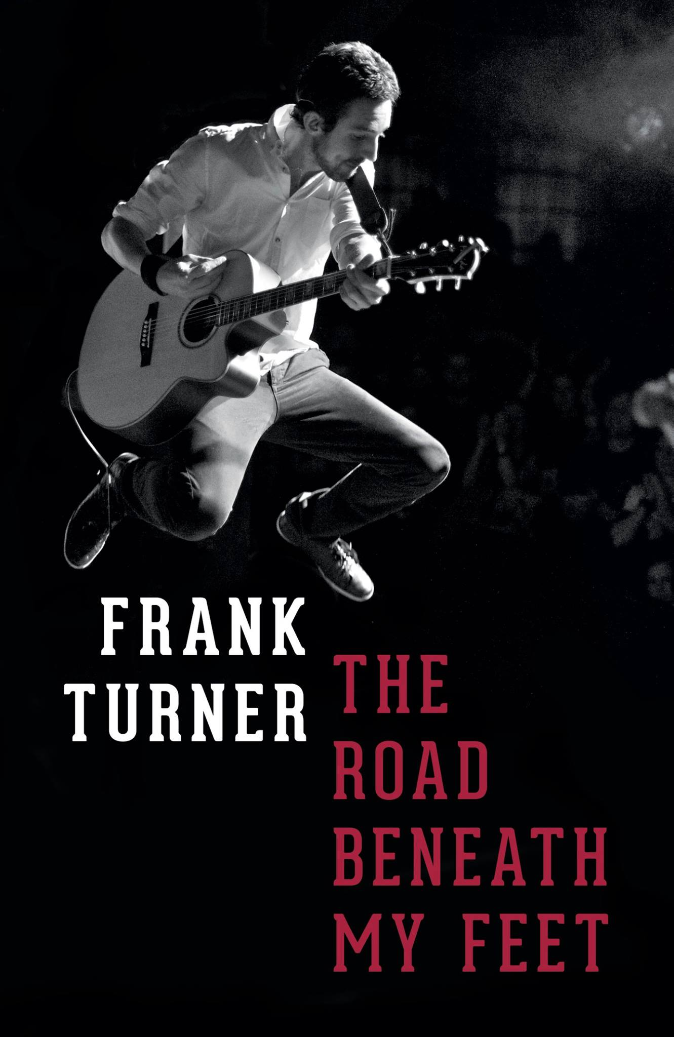 Frank Turner The Road Beneath My Feet Cover Image