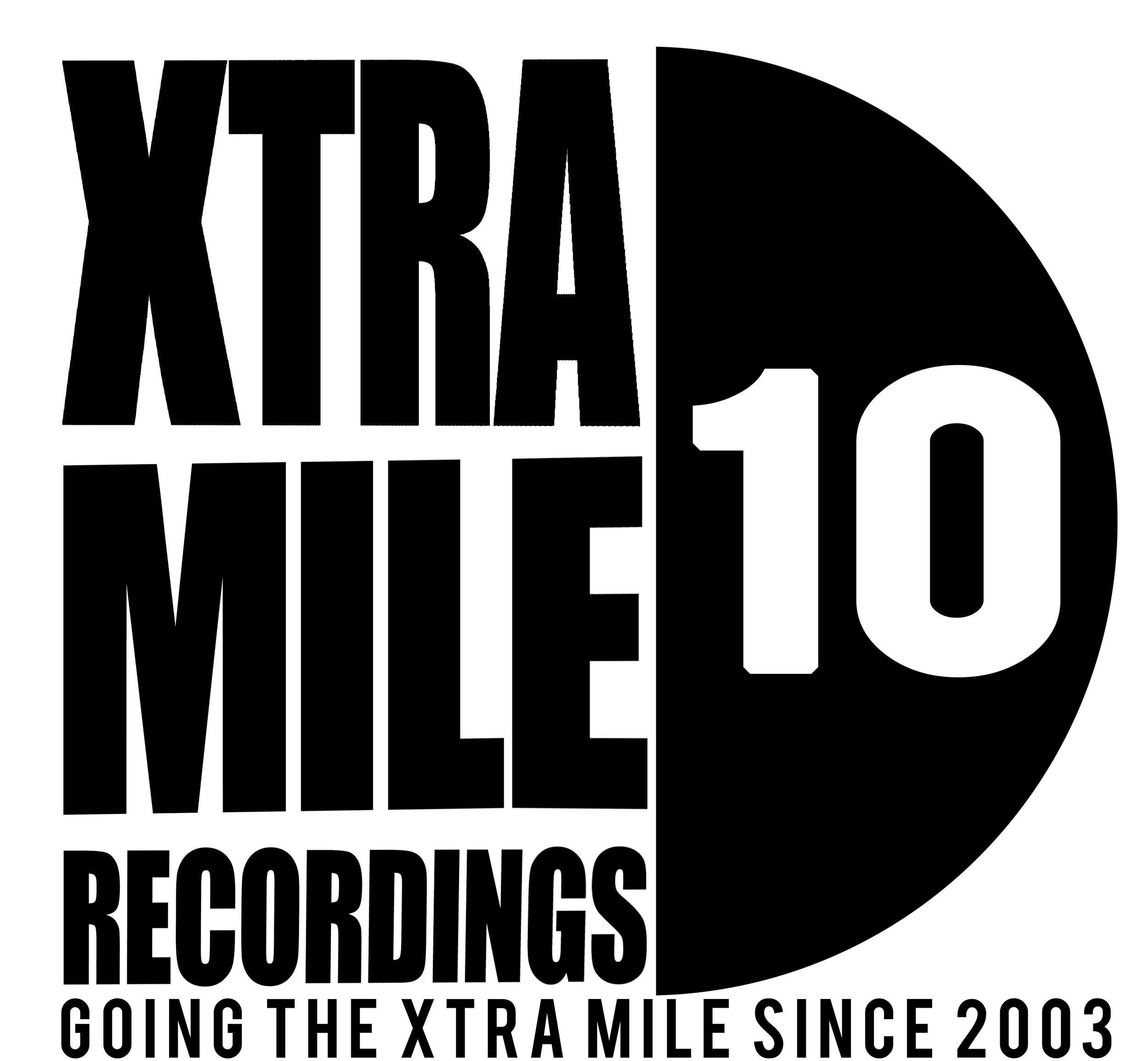 Xtra Mile Logo for 10 Year Anniversary