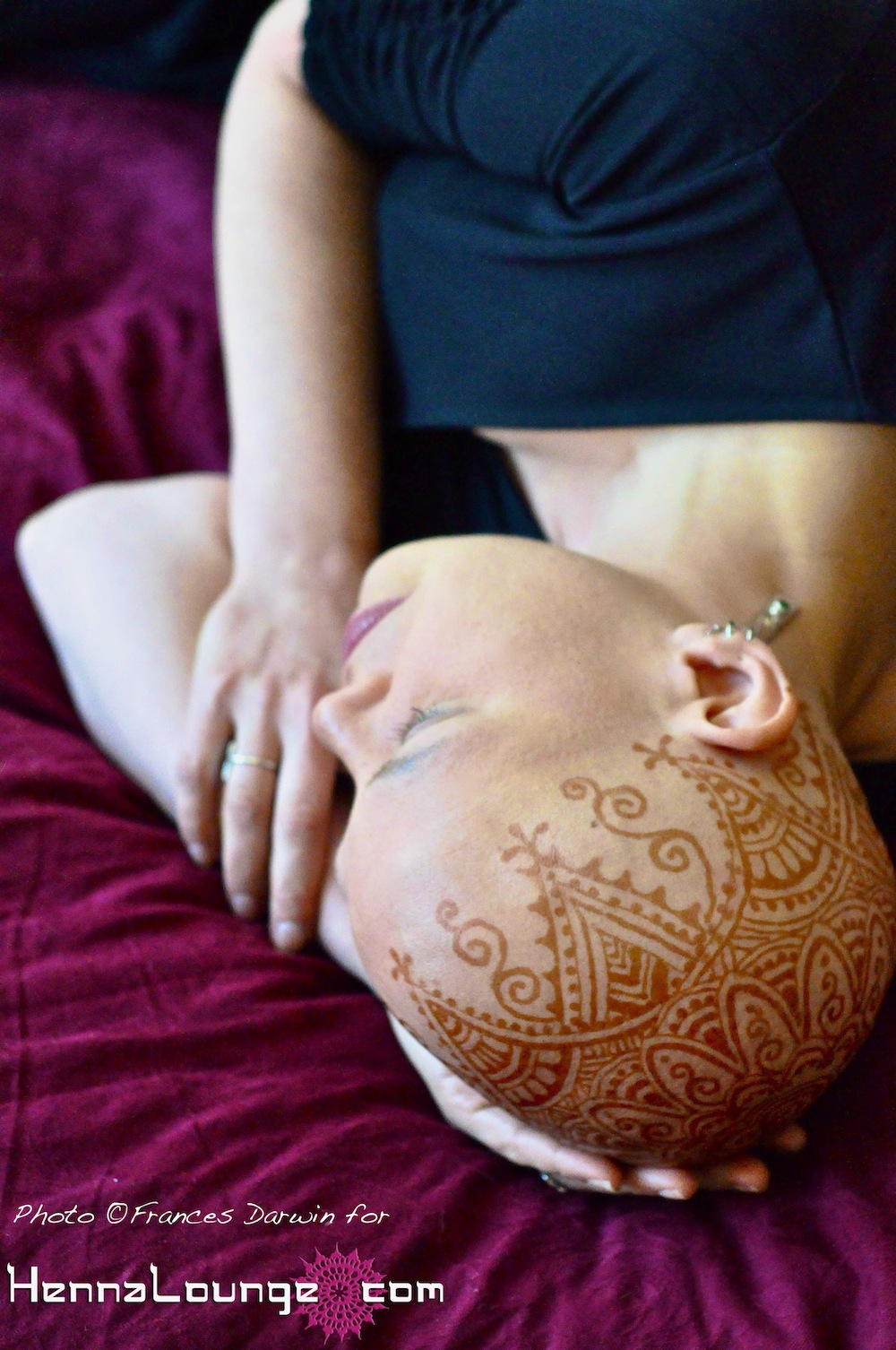 Natural henna is an option!