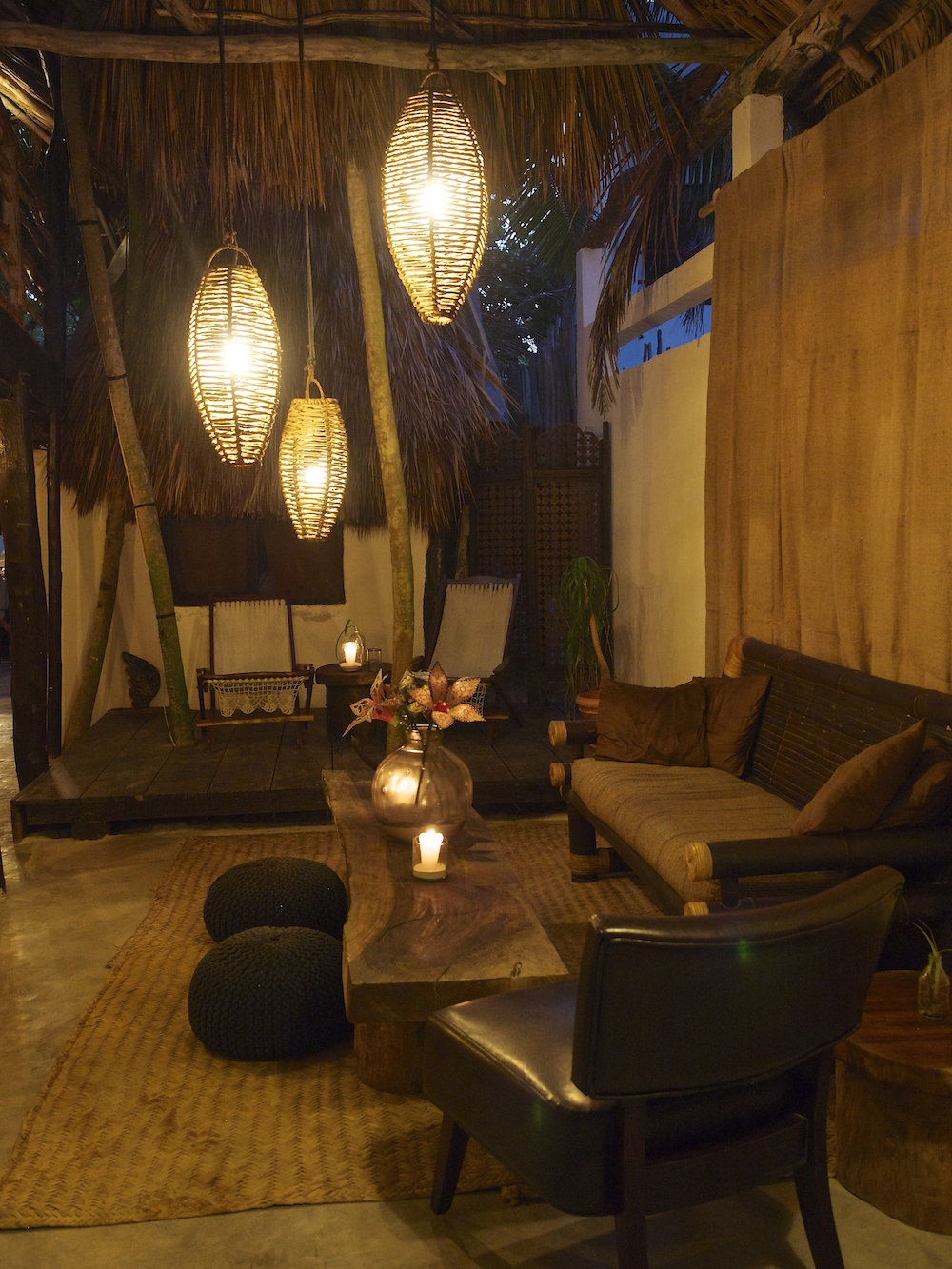 Evening at Utopia Tulum is just magical!