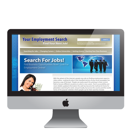 YOUR EMPLOYMENT SEARCH