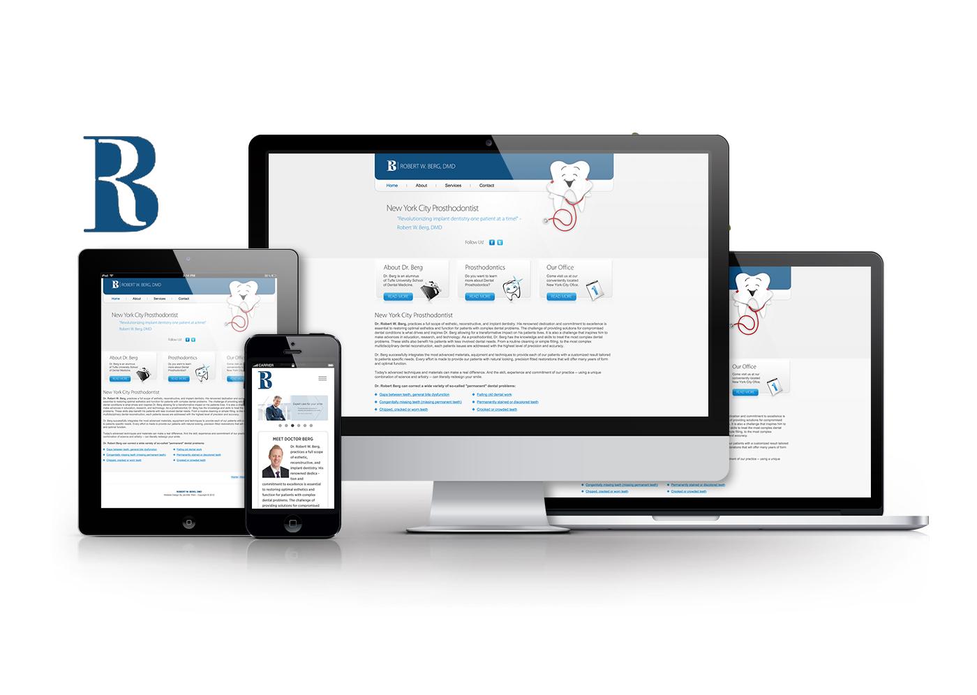 Mobile Optimized Website -  http://www.drrobertberg.com/