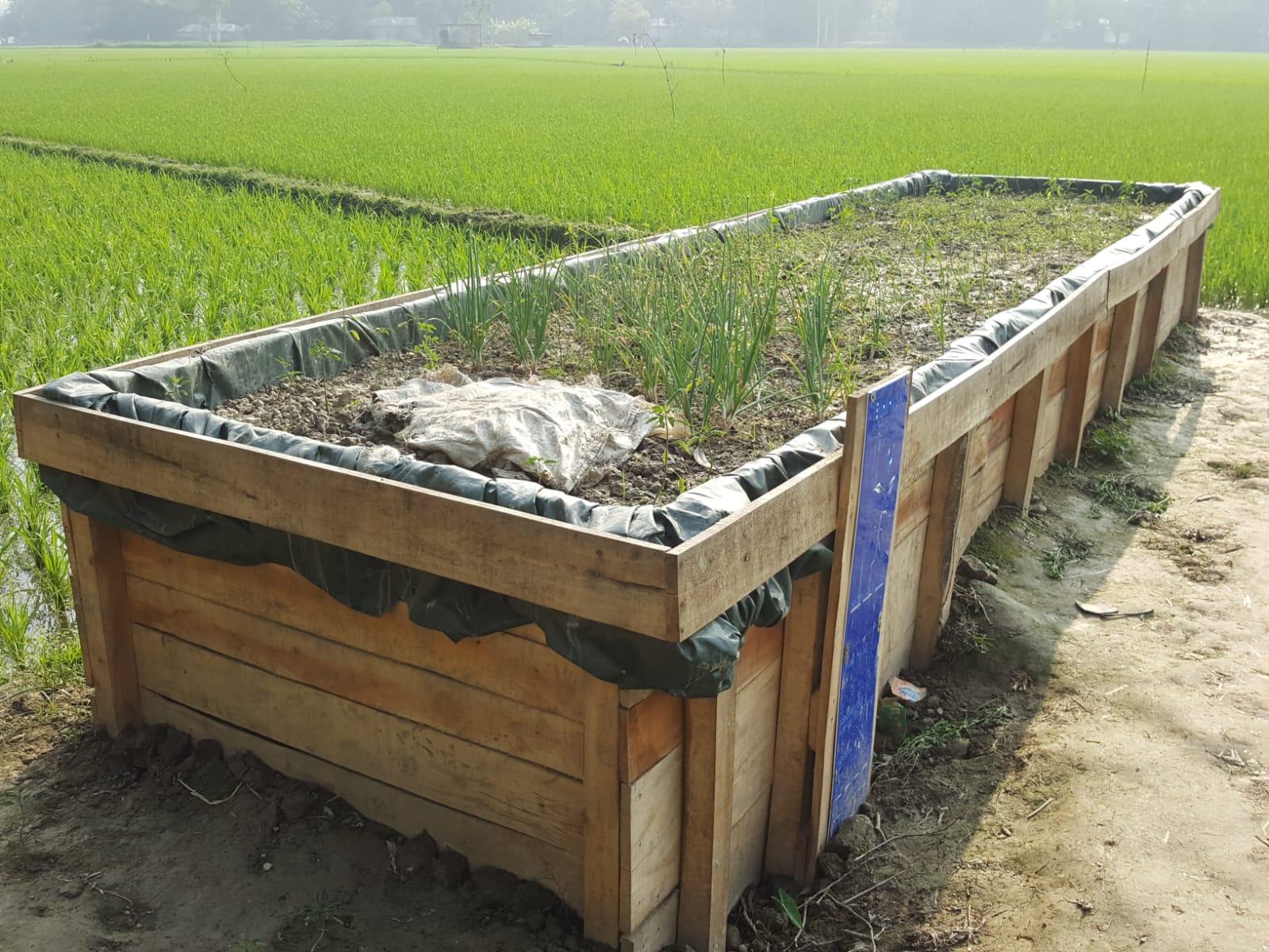 Field Factors, project CORE, rainwater management