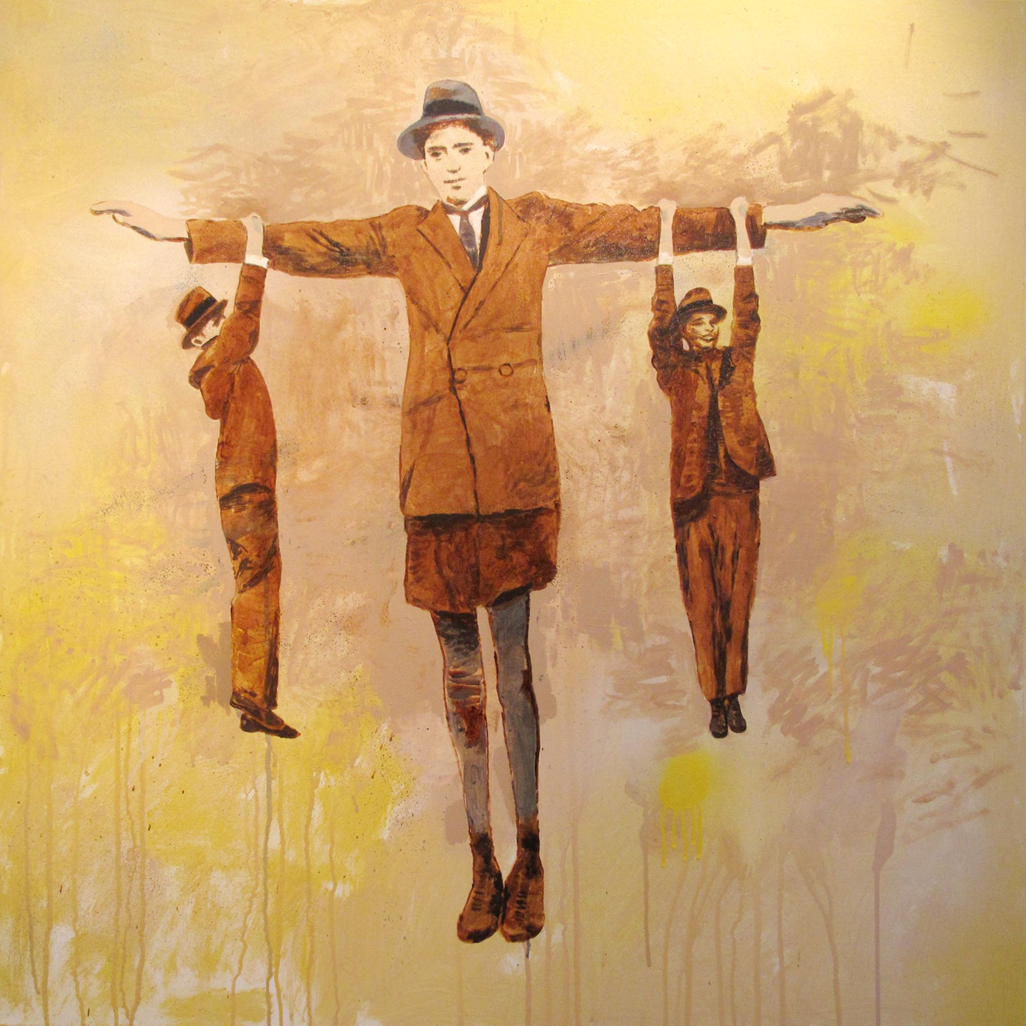 tree of man  acrylic on canvas © 2010 (120 x 120cm)