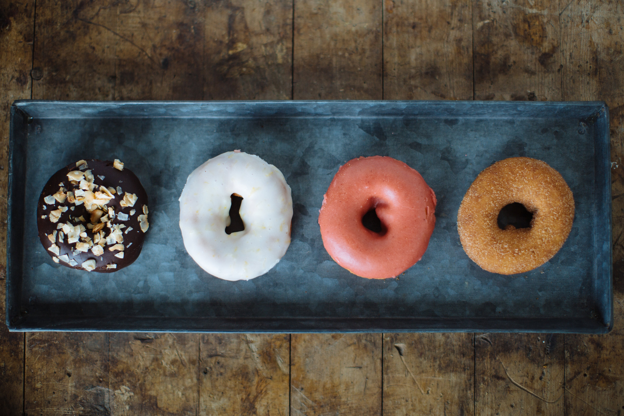 Donuts Now Available on Weekends! - made fresh with organic ingredients