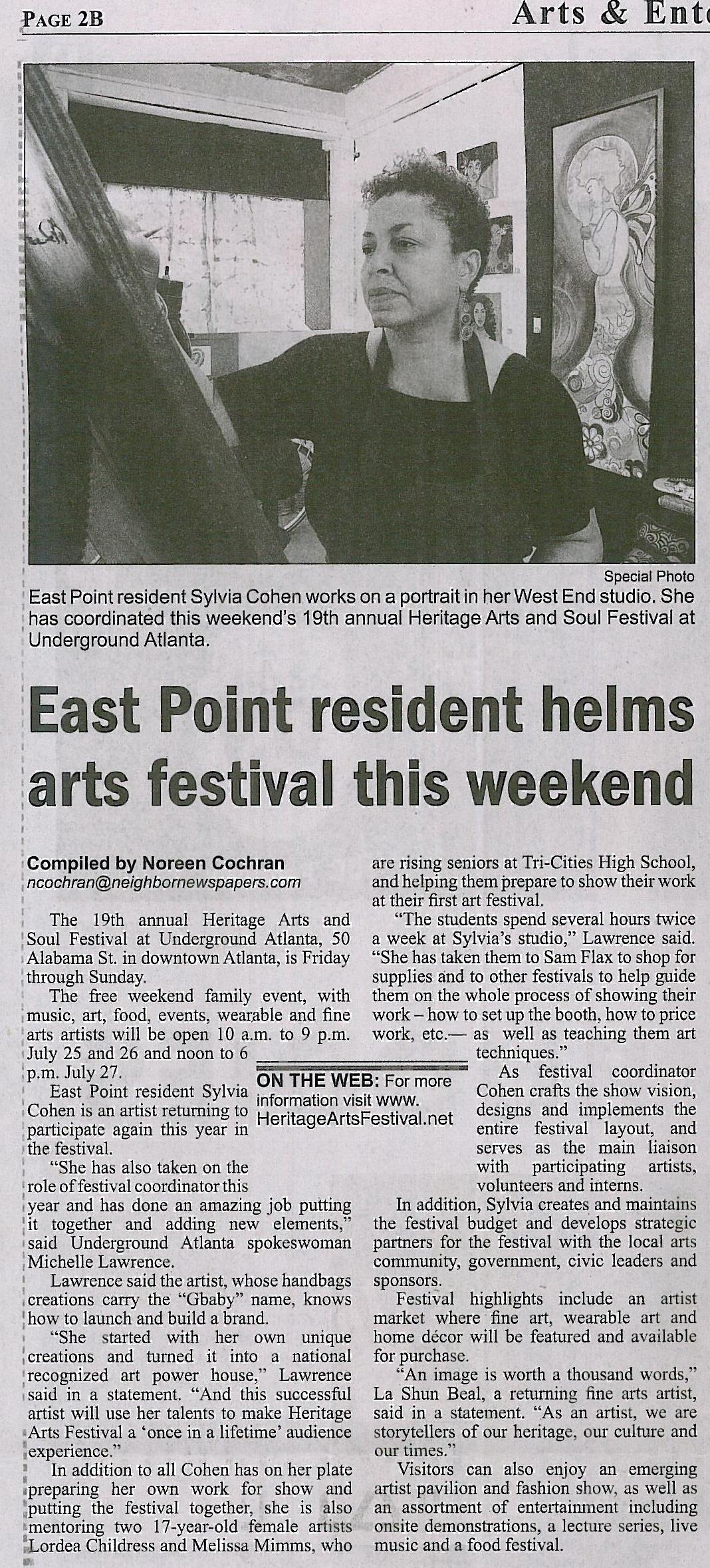 Neighbor Newspapers HAF Article
