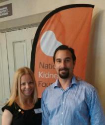 Alexandra with OC Nephrologist Dr. Eric Wechsler