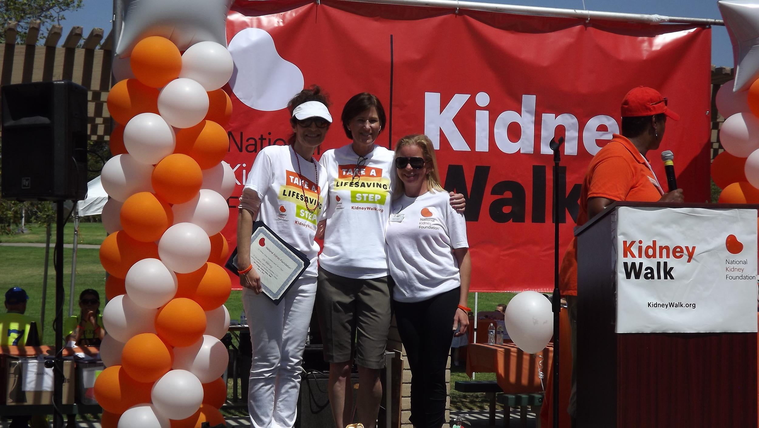NKF Division President, Pier Merone with CA State Senator Mimi Walters & Alexandra Harrison