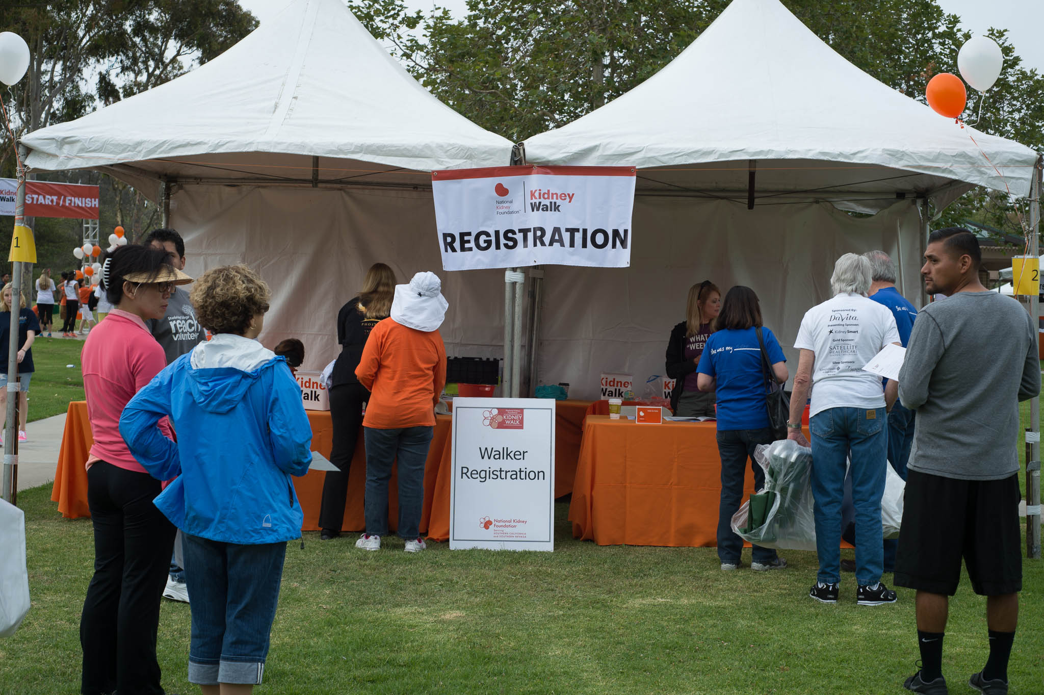 With 1,100 Participants the Registration Desk was a Busy Place
