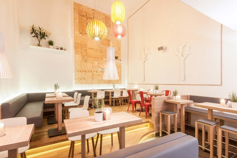 dean&david Speiseraum im Restaurant, Interieur, Innenarchitektur