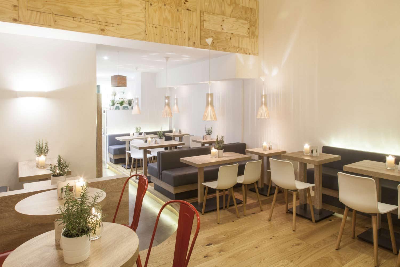 Architekturfoto für Imagekampagne von dean&david Concept Store