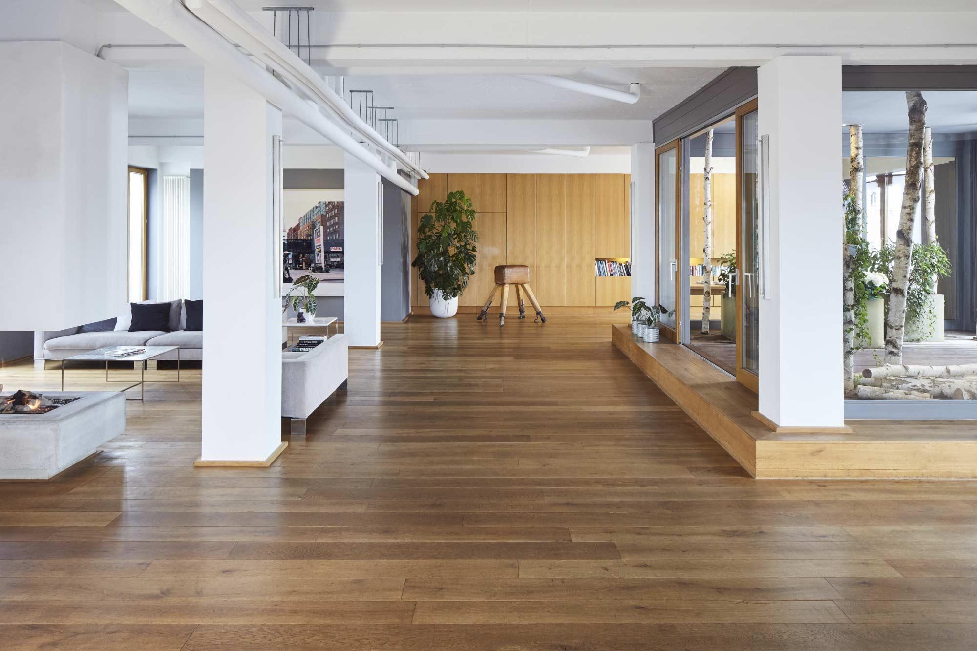 Architekturfoto des Lofts im New Yorker Hotel in Köln, Innenaufnahme