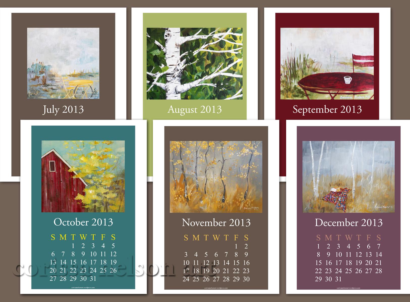 art calendar display 4