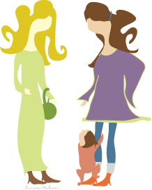 Ladies-chatting