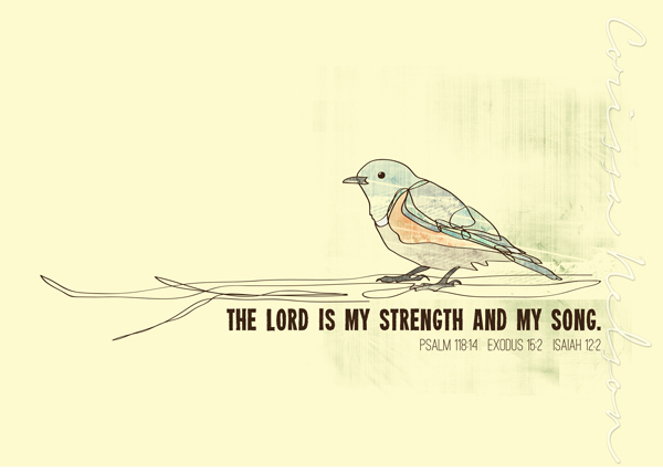 Lord is my strength