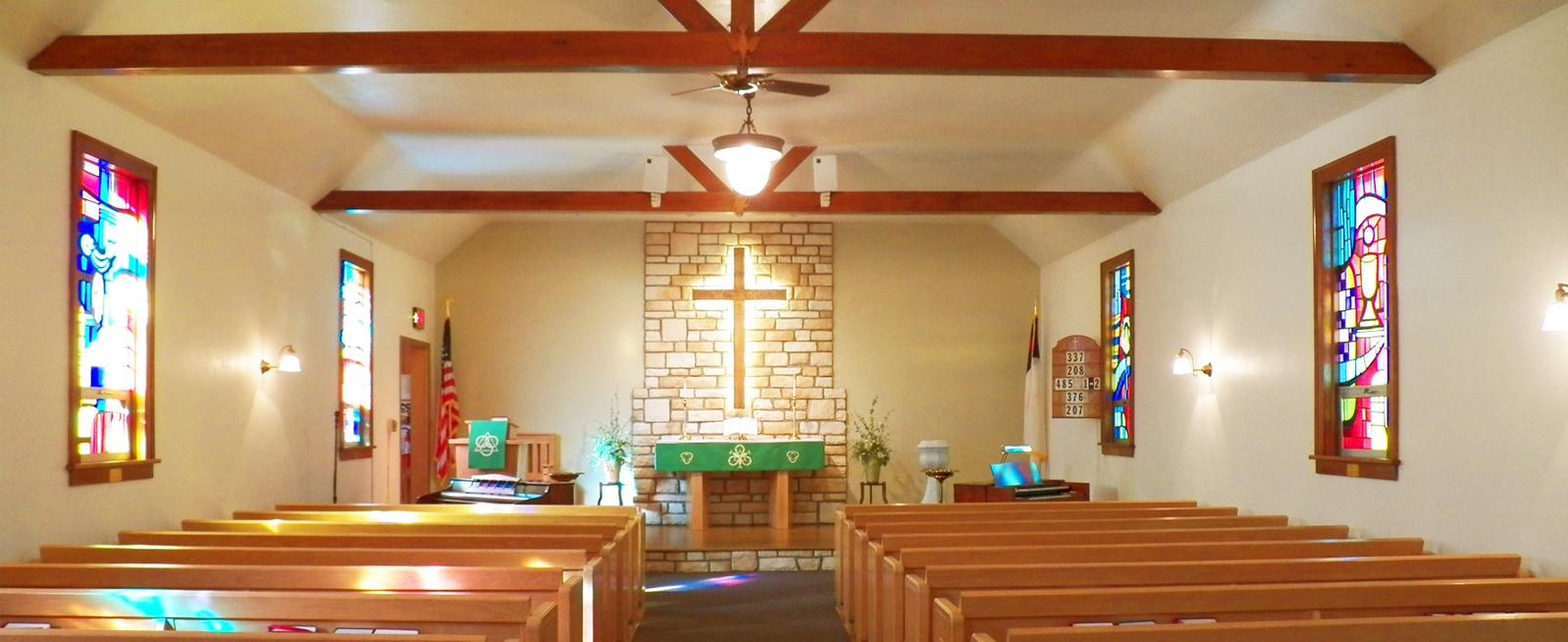 Less is More Sanctuary Design