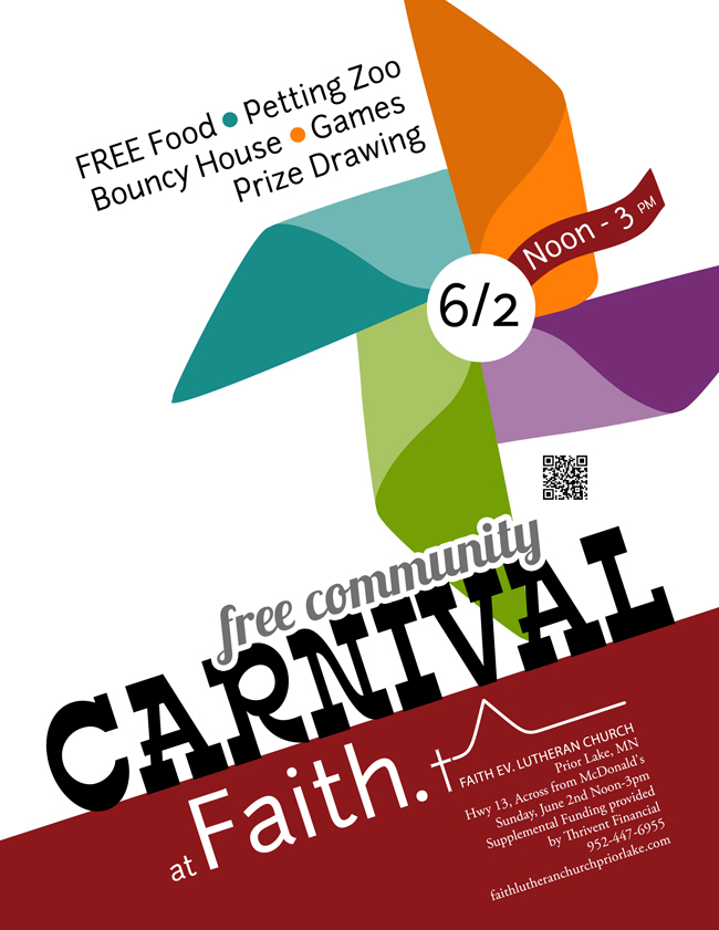 Free Community Carnival Flyer